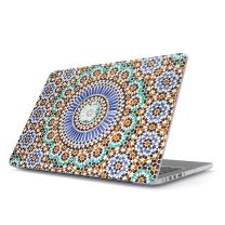 BURGA Hard Case Cover Compatible with MacBook Pro 15 Inch Case Release 2012-2015, Model: A1398 Retina Display NO CD-ROM Moroccan Colorful Mosaic