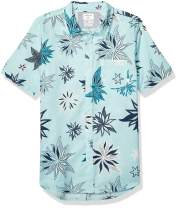 Quiksilver Men's South Nights Short Sleeve Woven Top
