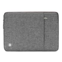 "NIDOO 15 Inch Laptop Sleeve Case Water-Resistant Protective Computer Cover Portable Notebook Carrying Bag Pouch for 15"" MacBook Pro / 16"" MacBook Pro/ 15"" Surface Book 3/15"" HUAWEI MateBook D 15, Grey"