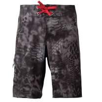 Kryptek Trireme Camo Swim Short - Quick-Dry Fabric & UPF 40 UV Sun Protection (K-Ore Collection)