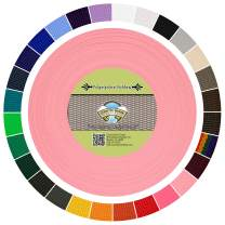 Country Brook Design - Polypropylene Webbing (Pastel Pink, 50 Yards, 1 Inch)