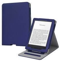 Fintie Flip Case for All-New Kindle (10th Generation, 2019) / Kindle (8th Generation, 2016) - Vertical Multi-Viewing Hands-Free Stand Cover with Auto Sleep/Wake, Navy