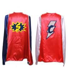 Everfan Personalized Superhero Capes for Kids | Custom Child Super Hero Cape | Cape Costume for Children | Polyester Satin