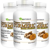 Paragon Curcumin Turmeric-1500mg Extra Strength- Anti-Inflammation - Supports Joint Health - Heart Health - Muscle Pain Relief - 90-Day Satisfaction Guarantee (3-Pack)