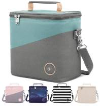 Simple Modern Insulated Adult Lunch Bag Tote Reusable Meal Container for Women, Men, Work, 4L Blakely, Two Tone: Fresh Day