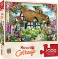 MasterPieces Flower Cottages Jigsaw Puzzle, Rose Cottage, Featuring Art by Howard Robinson, 1000 Pieces