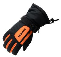 Arcweg Kids Ski Gloves Women Men Waterproof Cotton Fleece Lined Zipper Pocket Palm Grip Thermal Lightweight for Skiing Motorcycle Hiking Children & Adults 4 Colors Optional