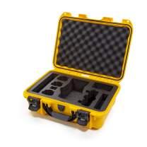 Nanuk 920-MAV2PZ4 DJI Drone Waterproof Hard Case with Custom Foam Insert for DJI Mavic 2 Pro/Zoom - Yellow