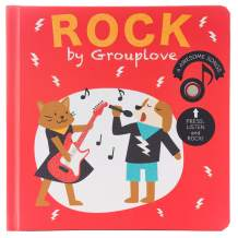 Cali's Books Rock by Grouplove. Children Interactive Sound Book -The Perfect Rock-Star Musical Book for Babies, Toddlers Boy and Girls Ages 1-3