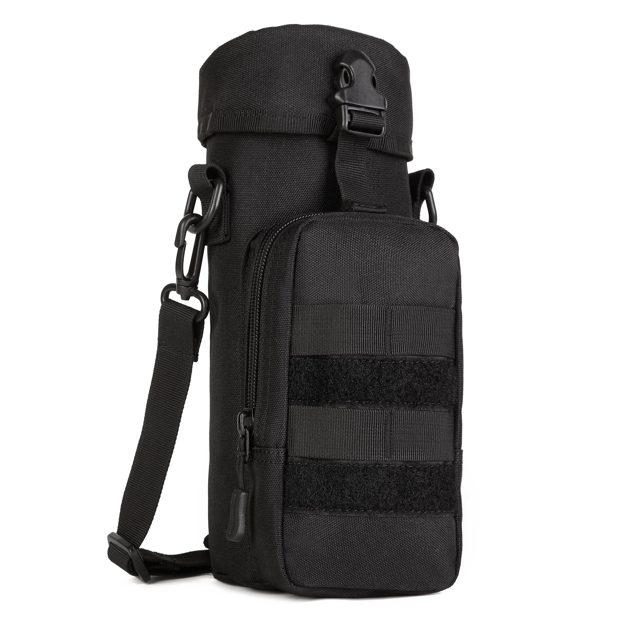 ArcEnCiel Molle Water Bottle Pouch Tactical Military Kettle Set Holder Hydration Bag Carrier Pocket for Camping Climbing Cycling Hiking Travelling