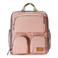 SoHo Diaper Bag Backpack 3PC Essentials - Pink