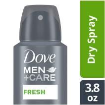Dove Men+Care Stain Defense Dry Spray Antiperspirant Deodorant, Fresh, 3.8 oz
