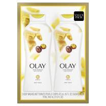 Olay Ultra Moisture Body Wash with Shea Butter, 16 fl oz Twin Pack