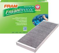 FRAM FCF8110A Fresh Breeze Cabin Air Filter with Arm & Hammer