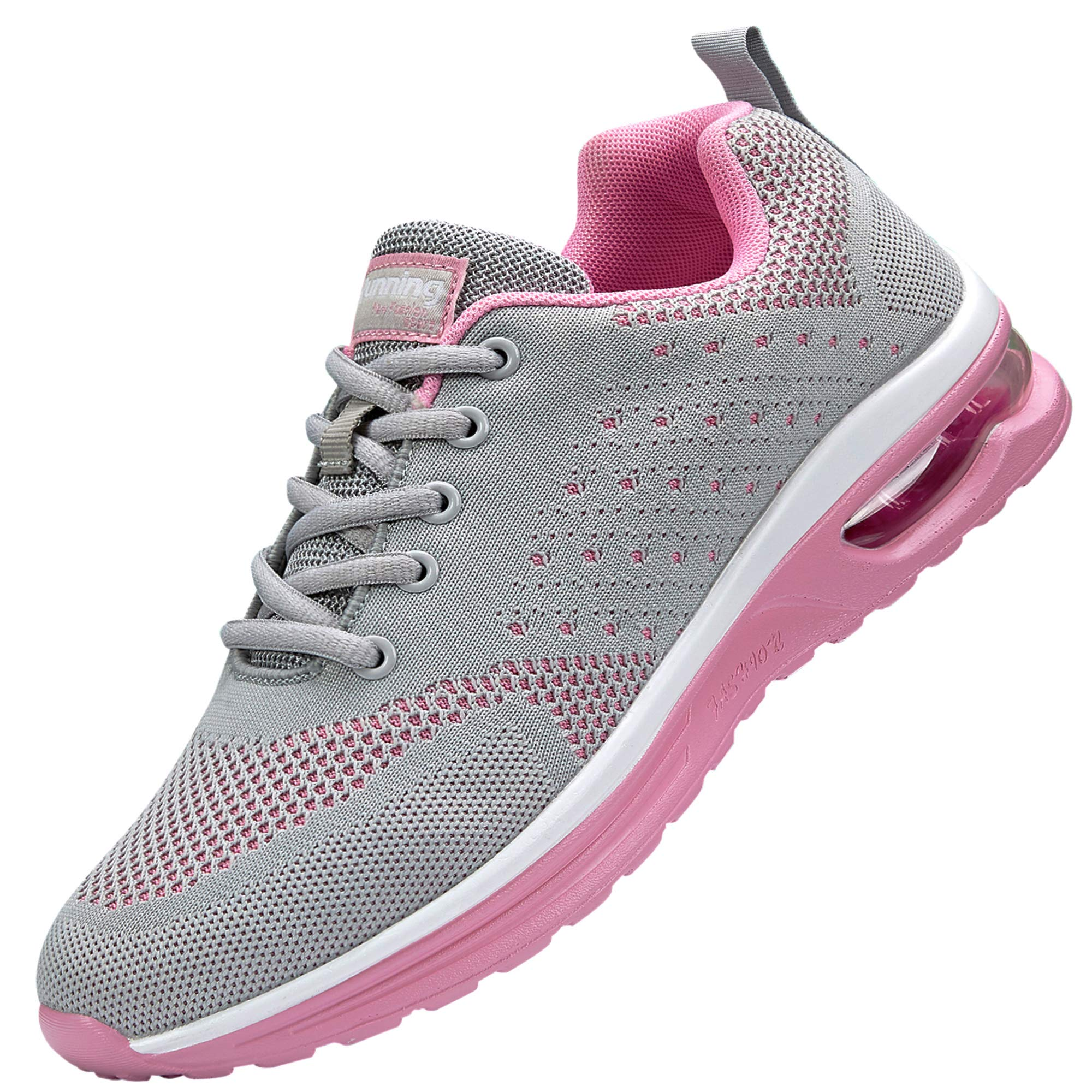 Nishiguang Women's Air Athletic Running Sneaker Fitness Sport Gym Jogging Tennis Shoes