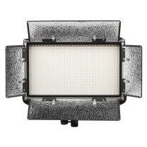 Ikan Rayden Half x 1 Bi-Color 3200K-5600K Adjustable Studio/Field LED Light, Barn Doors Included (RB5) - Black