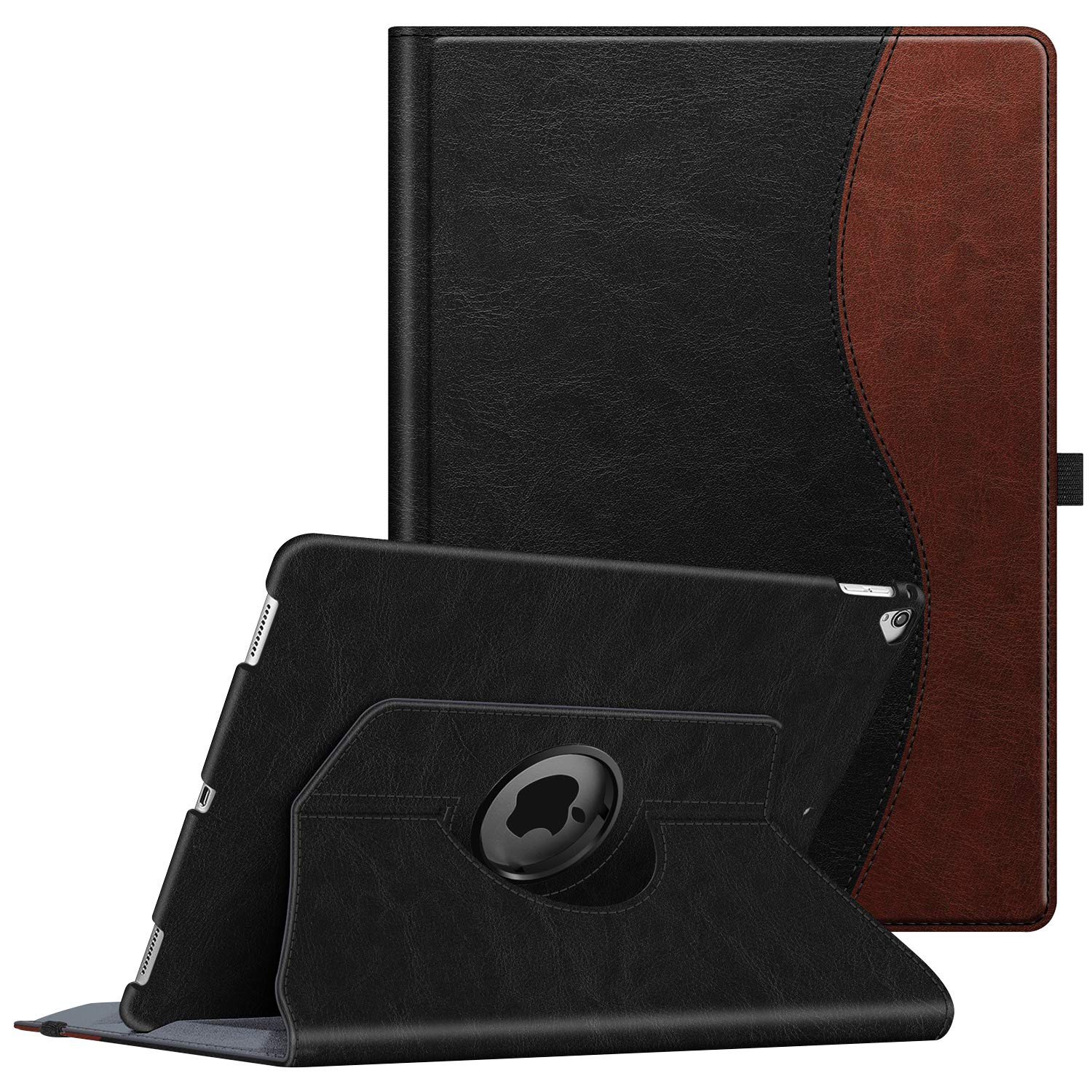 Fintie Rotating Case for iPad Pro 12.9 (2nd Gen) 2017 / iPad Pro 12.9 (1st Gen) 2015-360 Degree Rotating Stand Case with Smart Protective Cover Auto Sleep/Wake, Dual Color