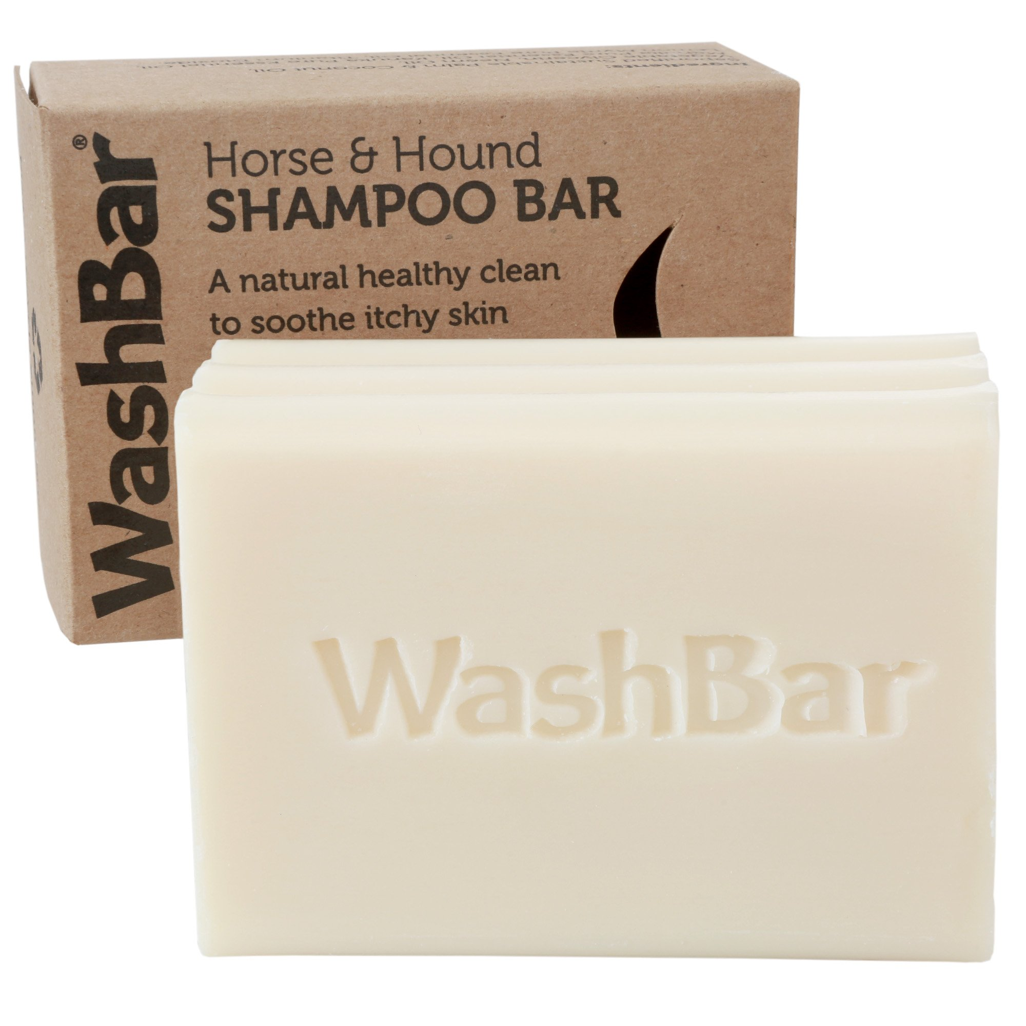 Natural Horse Shampoo Bar, Mane and Tail Shampoo, Whitens, Brightens All Colored Coats, Long-Lasting and Easier to Use Than Liquid Shampoo with No Plastic Waste, 6.5oz