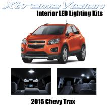 Xtremevision Interior LED for Chevy Trax 2015 (7 Pieces) Pure White Interior LED Kit + Installation Tool Tool
