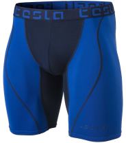 TSLA Men's Athletic Compression Shorts, Active Cool Dry Sports Performance Running Tights