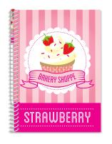 "Scentco Sketch & Sniff Sketchbook (8.3"" x 5.8"") - Strawberry Cupcake"