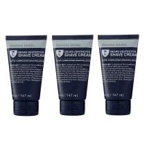 Grooming Lounge Beard Destroyer Shave Cream, Sensitive Skin, 5 oz, 3-Pack