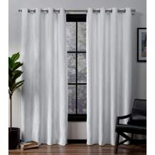 """Exclusive Home Curtains Forest Hill Panel Pair, 96"""" Length, Winter"""