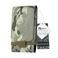 Huijukon Molle Tactical Phone Pouch Large Smartphone Pouch Belt Holster Case for iPhone 11 XS iPhone 11 XS Pro Galaxy S10 Galaxy S10 Plus Note 10 (Camo)