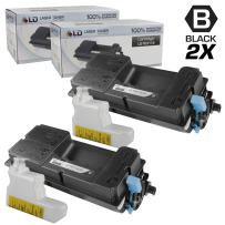 LD Compatible Toner Cartridge Replacement for Kyocera-Mita FS-4100dn TK-3112 (Black, 2-Pack)