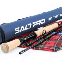 M MAXIMUMCATCH Maxcatch Saltwater Fly Fishing Rod 9ft 8/9/10wt Graphite IM10 Fast Action