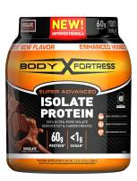 Body Fortress Super Advanced Whey Protein Isolate Powder, Gluten Free, Chocolate, 1.5 lbs (Packaging May Vary)