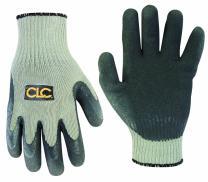 CLC Custom Leathercraft 2034M Thermal Lined Latex Gripper Gloves, Medium
