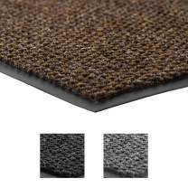 Notrax - 136S0048BR NoTrax 136 Polynib Entrance Mat, for Home or Office, 4' X 8' Brown