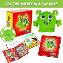 ENTYPALS Educational Plush & Learning Board Book, (Value of Honesty) Great Gift Set for Kids or Children Boys or Girls. Kids Learning Toy. Toddler Activities and Kids Therapy Help.