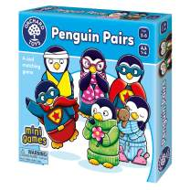 Orchard Toys Penguin Pairs - Travel-Sized Matching Game - Perfect for Home Learning