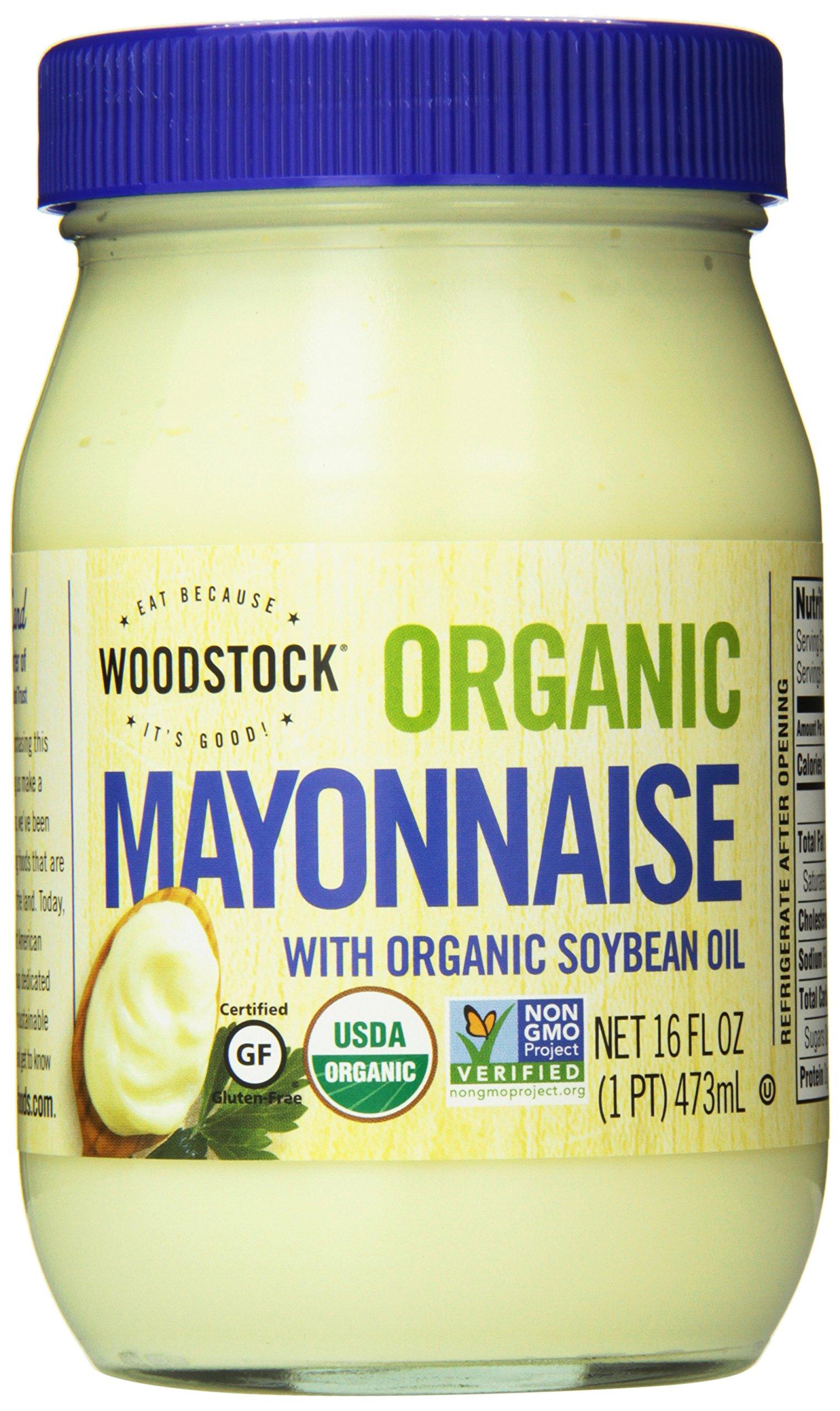 Woodstock Farms Organic Mayo, 16 Ounce