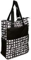 Women's Tennis Tote Bag - Glove It - Big Fashion Tote Bag for Women - Womens Large Tote Bags with Zipper & Shoulder Strap - 6 Outside Pockets - Ladies Sport Totes