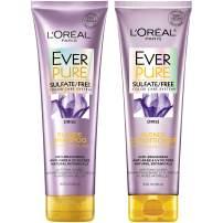L'Oréal Paris Hair Care EverPure Blonde Sulfate Free Shampoo & Conditioner Kit for Color-Treated Hair, Neutralizes Brass + Balances, For Blonde Hair, Combo (8.5 Fl. Oz each)