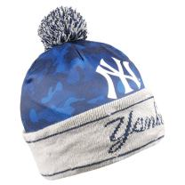 FOCO Camouflage Light Up Printed Beanie New York Yankees Camouflage Light Up Printed Beanie