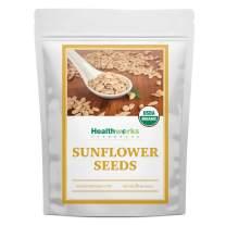 Healthworks Sunflower Seeds Shelled Organic (32 Ounce / 2 Pound)