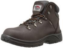 """FSI AVENGER Men's 6"""" Leather Slip Resistant Waterproof EH Soft Toe Work Boot"""