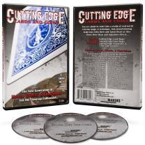 Cutting Edge Instructional Magic DVD - Card Magic Tricks & Coin Magic Tricks Instructional Training Guide with John Born and Jason Dean