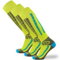 Ski Socks Women Wool Warmest - Best Lightweight Men Skiing Sock, Snowboard