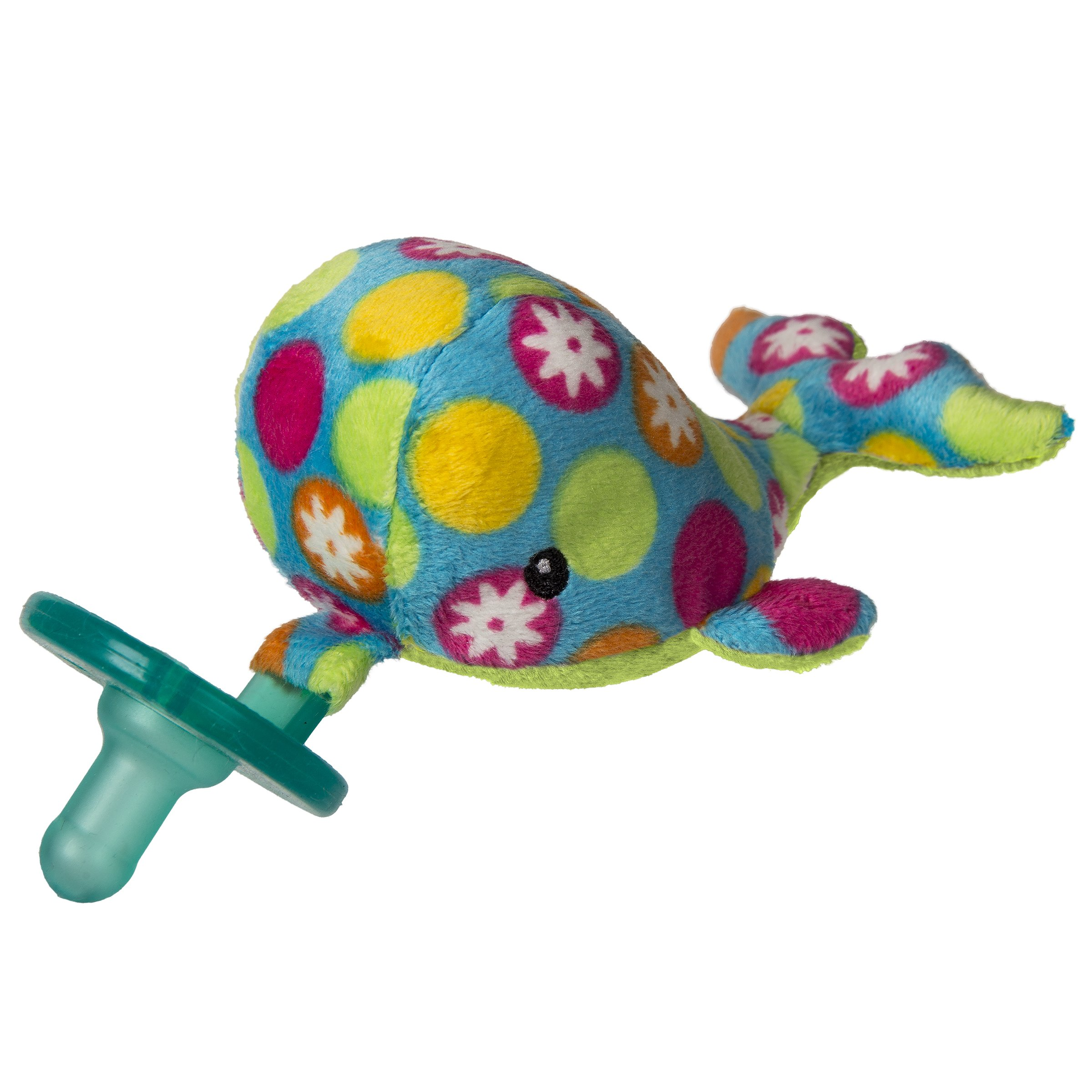 Mary Meyer WubbaNub Soft Toy and Infant Pacifier, Bubbly Whale