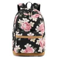 Forestfish College Backpack Backpack Floral Bookbag Bag Travel Daypack Backpack Bags for Women Grils