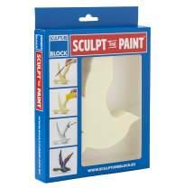 Sculpture Block - Sculpt & Paint - Bird