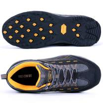 TFO Hiking Shoes Men Breathable Non-Slip Air Circulation Insole for Outdoor Trekking Walking Grey