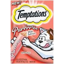 New Temptations Creamy Purrrr-ee lickable purée cat treats