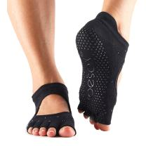 Toesox Women's Bellarina Half Toe Grip (Nightlife) Medium