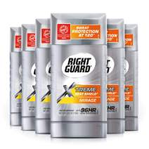 Right Guard Xtreme Heat Shield Antiperspirant Deodorant Stick, Mirage, 2.6 Ounce (Pack Of 6)